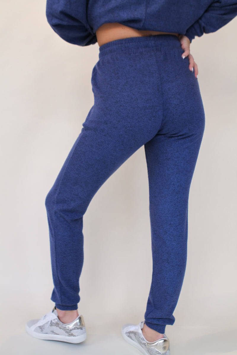 Two Pocket Sweatpant denim blue - Stevie Sister