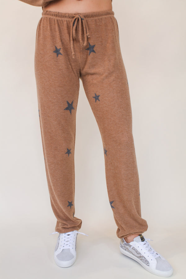 Loungy Star Sweat Pants - Stevie Sister