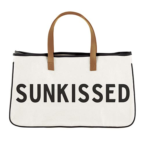 Sunkissed Canvas Tote