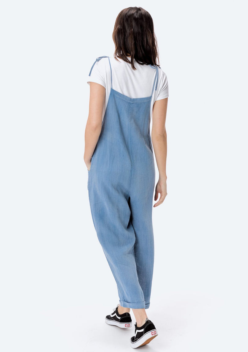 Washed Denim Overall - Stevie Sister
