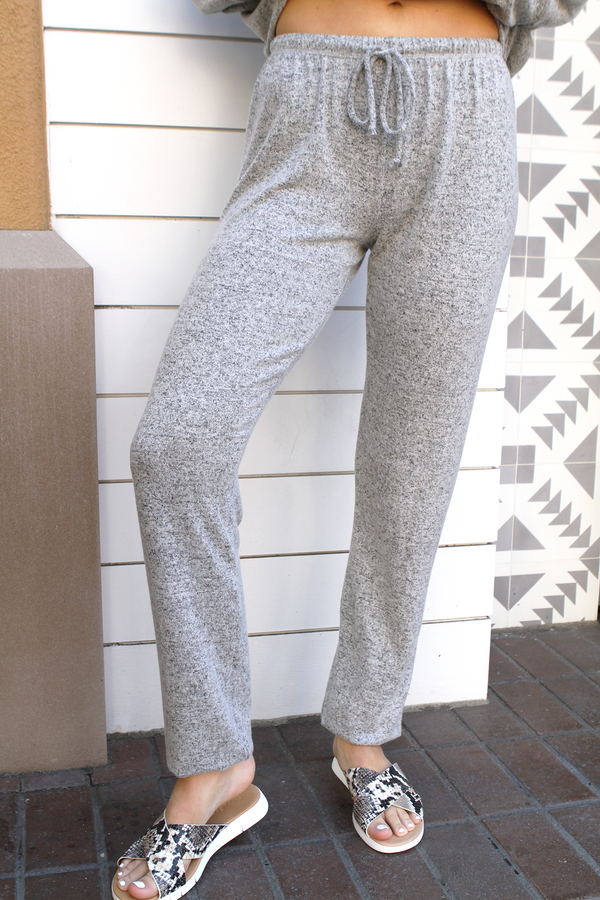 Loungy Sweatpant Natural - Stevie Sister