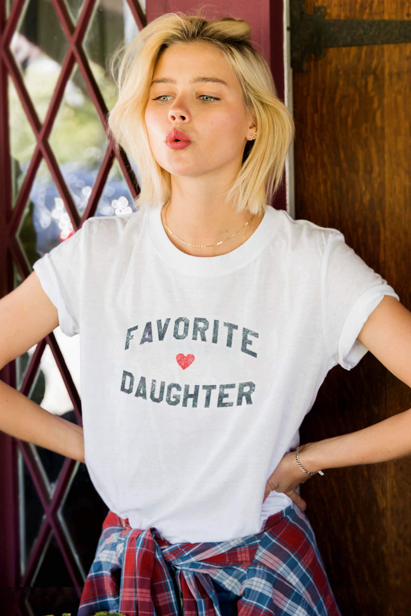 Favorite Daughter Loose Tee - Stevie Sister