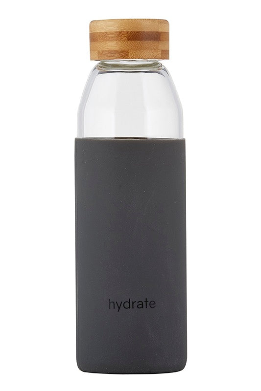 Water Bottle w/Bamboo Lid Hydrate - Stevie Sister
