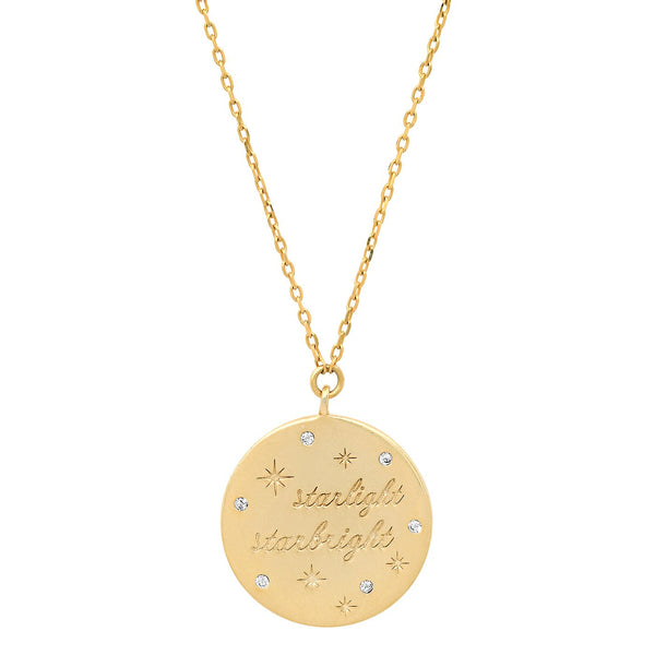 Starlight Starbright Coin Necklace - Stevie Sister