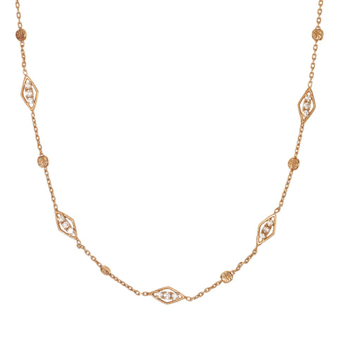 Maha Lozi | Linked In (Long) necklace