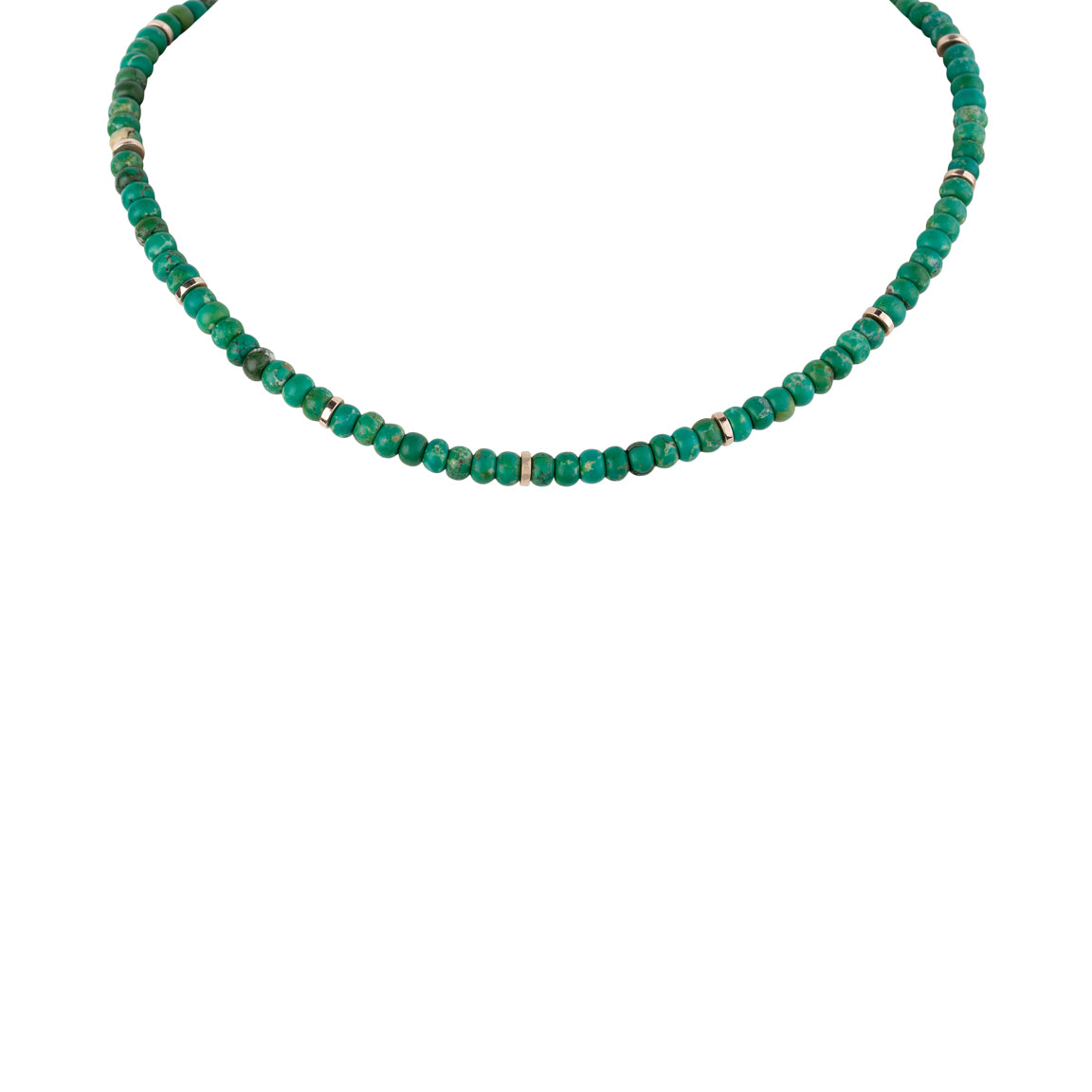 Turquoise Beads Loop