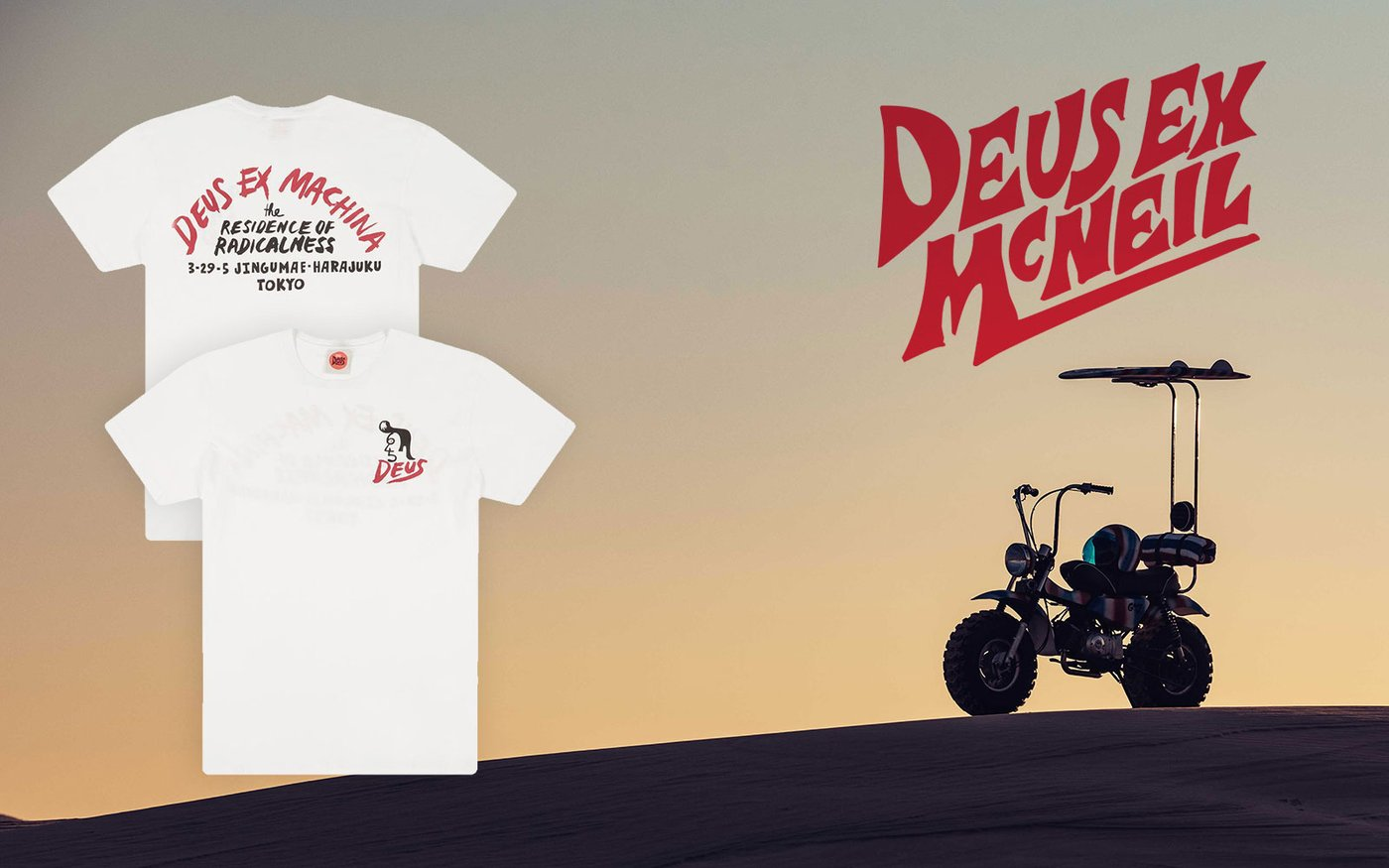 Available Now: Deus Ex Machina x Paul McNeil Collaborate on Surf-Inspired Tees