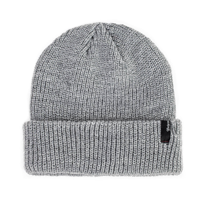 Brixton Heist Beanie - Light Heather Grey - Pretend Supply Co