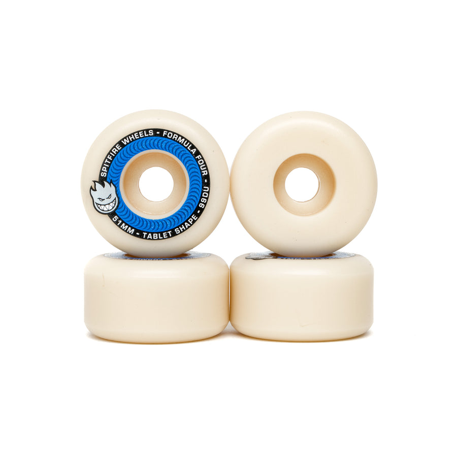Spitfire Formula Four Tablets 99DU Wheels - 51mm