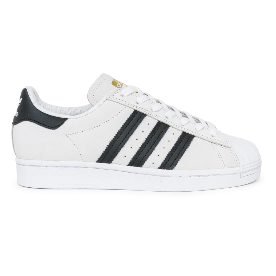 Adidas Superstar ADV Shoes - FTW White/Core Black/Gold