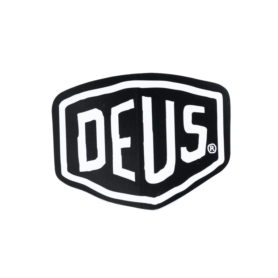 Deus Ex Machina Vinyl Sticker - Black