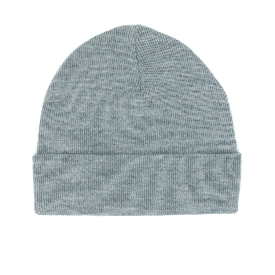 Huf Triple Triangle Cuff Beanie - Grey Heather