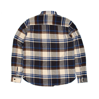 Triumph Dual Shock Shirt - Blanket Check Blue