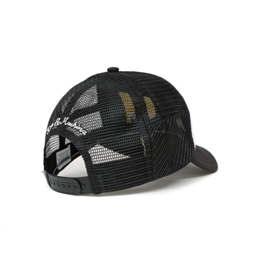 Deus Ex Machina Moretown Trucker Cap - White/Black