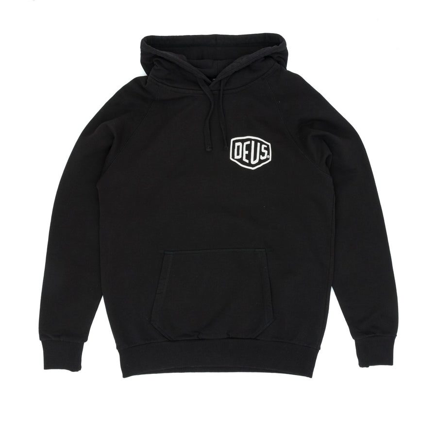 Deus Ex Machina Biarritz Address Hooded Sweatshirt - Black