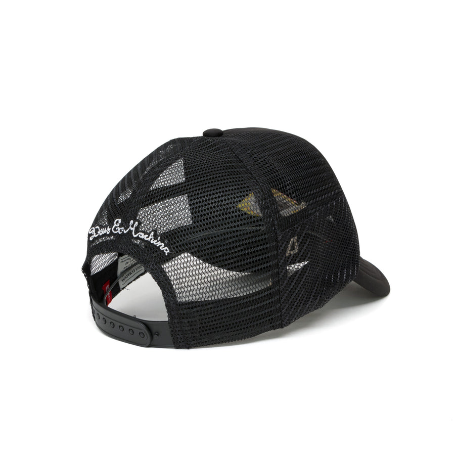 Deus Ex Machina Biarritz Address Mesh Cap - Black