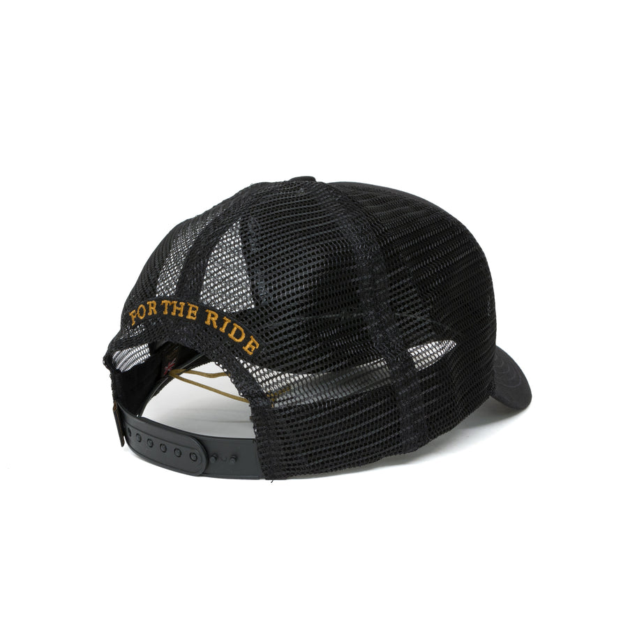 Triumph Oil Trucker Cap - Black