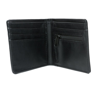 Vans Drop V Bi Fold Wallet - Black Open