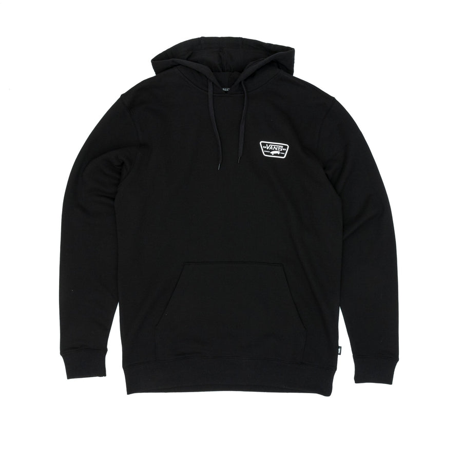 Vans Full Patched Pullover Hooded Sweatshirt - Black