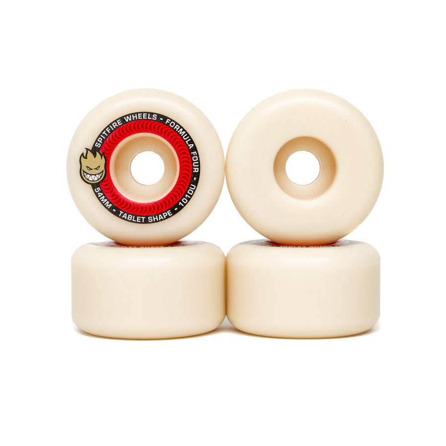 Spitfire Formula Four Tablets 101DU Wheels - 54mm
