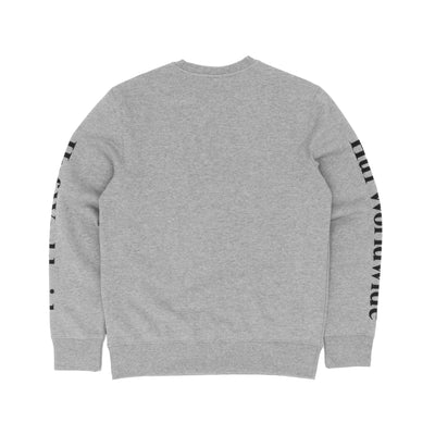 Huf Domestic Crew Sweatshirt - Grey Heather