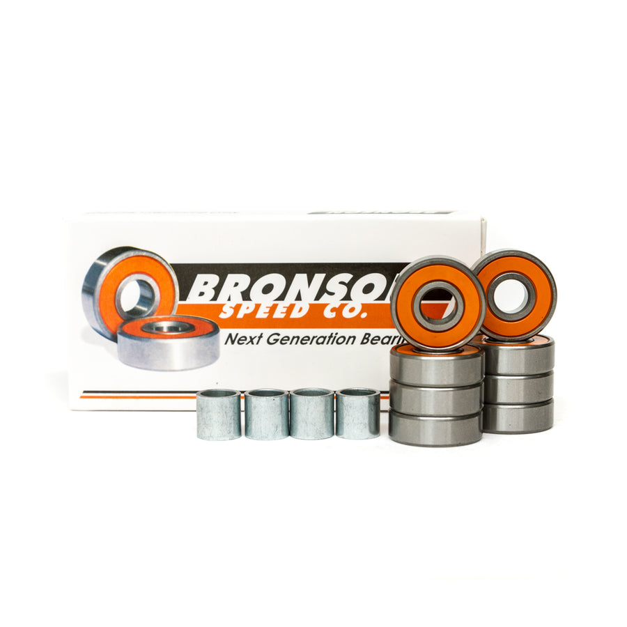 Bronson G2 Skateboard Bearings 8 Pack - Pretend Supply Co