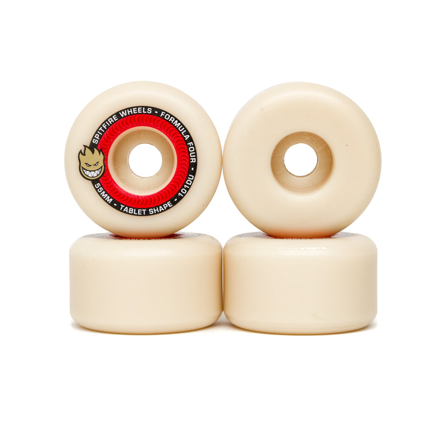 Spitfire Formula Four Tablets 101DU Wheels - 55mm