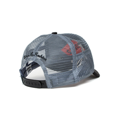 Deus Ex Machina Caps Trucker Cap - Black/Grey