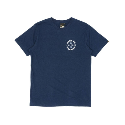 Deus Ex Machina Capital T-Shirt - Navy Marle