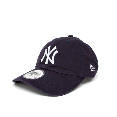 New Era New York Yankees Washed Casual Classic Cap - Navy
