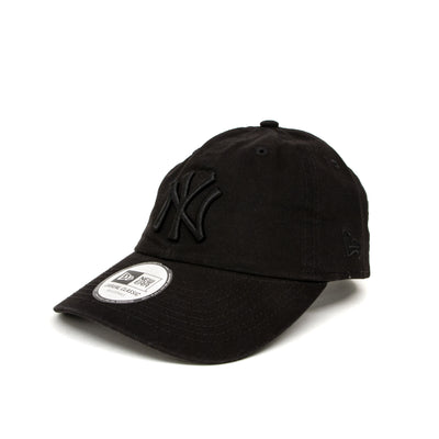 New Era New York Yankees Washed Casual Classic Cap - All Black