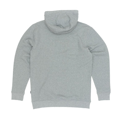 Vans Classic Pullover Hooded Sweatshirt - Concrete Heather/Black Back