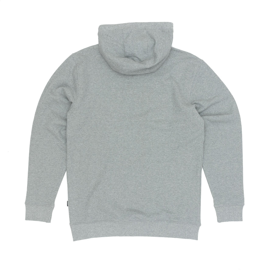 Vans Classic Pullover Hooded Sweatshirt - Concrete Heather/Black Front