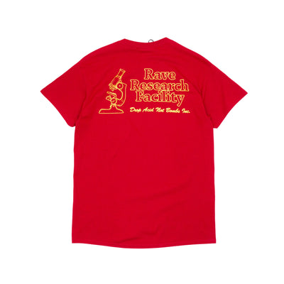 Rave Research Facility T-Shirt - Cardinal Red