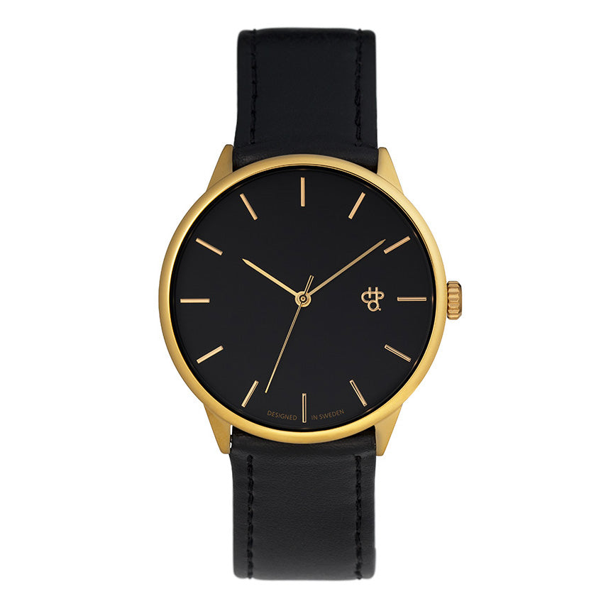 CHPO Khorshid Watch - Black/Gold - Pretend Supply Co