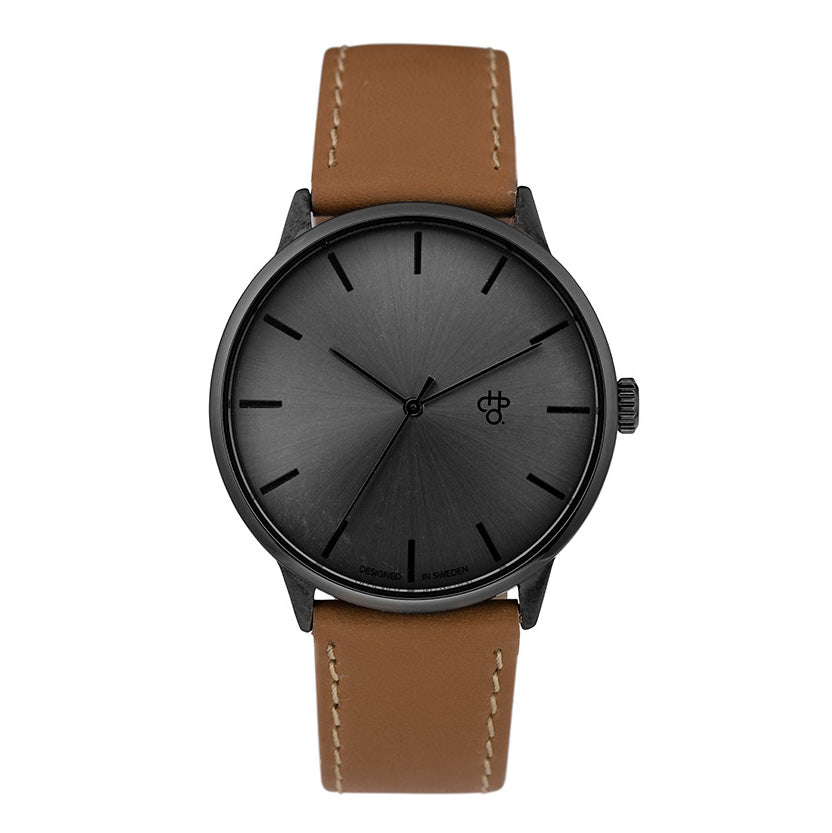 CHPO Khorshid Funk Watch - Black/Black/Brown - Pretend Supply Co