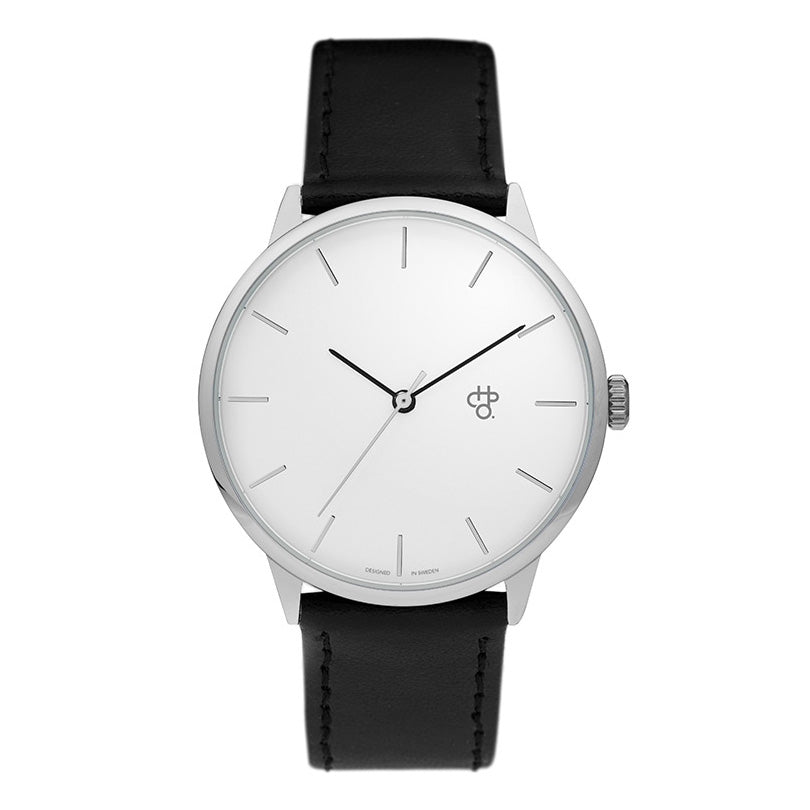 CHPO Khorshid Watch - Silver/Black - Pretend Supply Co