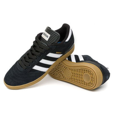Adidas Busenitz Shoes - Black/Running White/Metallic pair