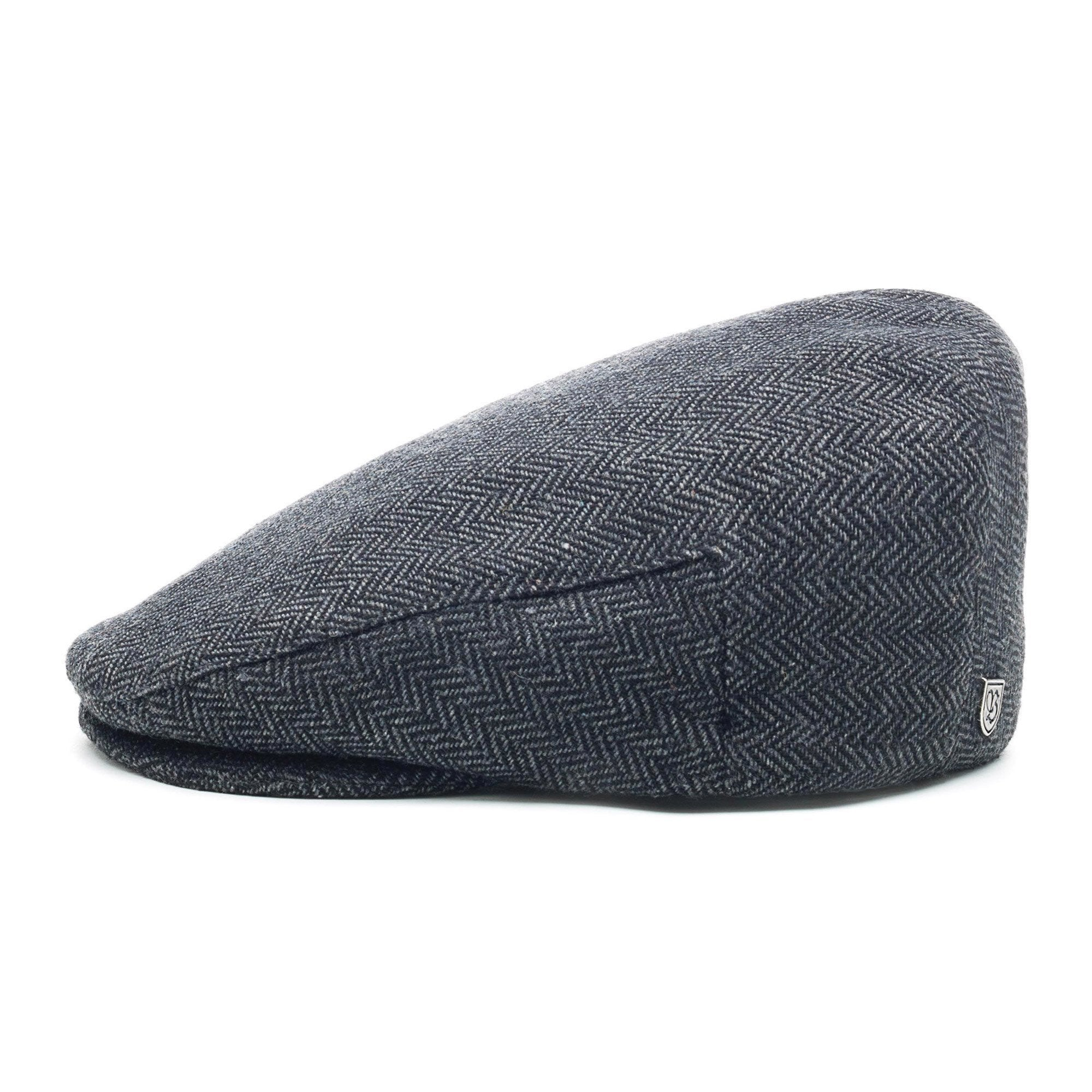 Brixton Hooligan Flat Cap - Grey Black  ddb502816fe1