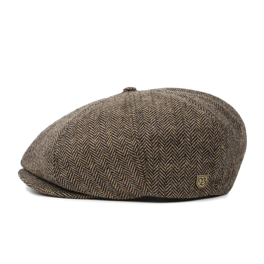 Brixton Brood Snap Cap - Brown/Khaki