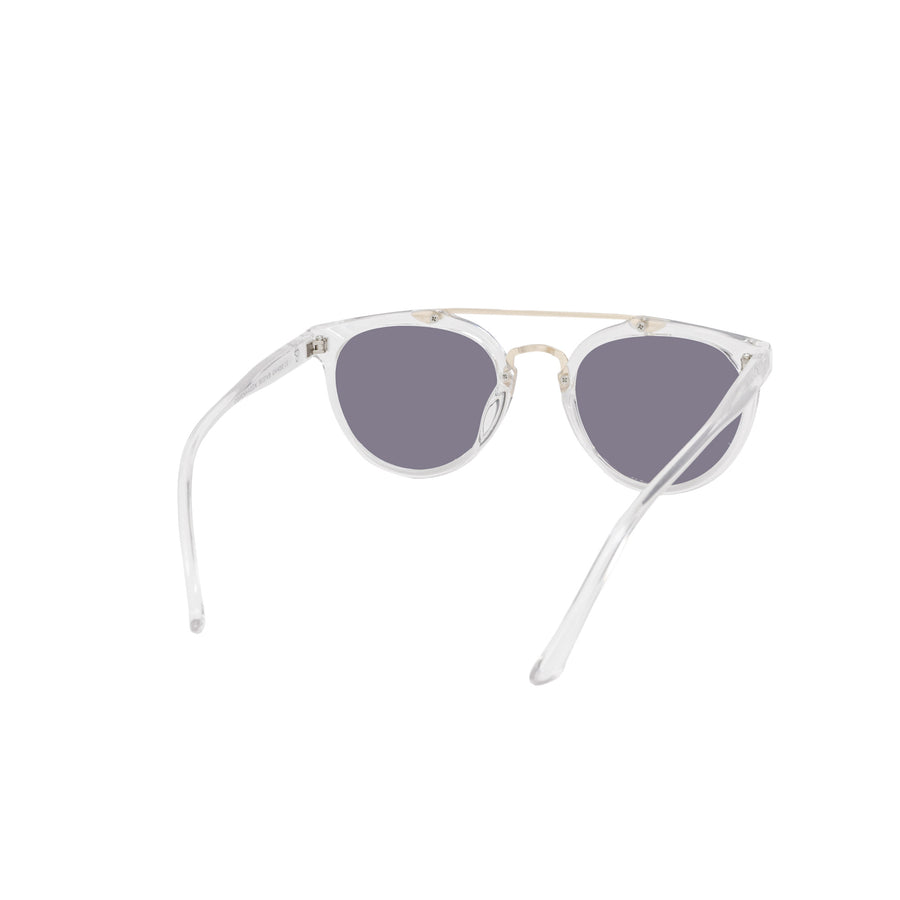 CHPO Copenhagen Sunglasses - Clear/Gold front