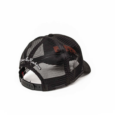 Deus Ex Machina Camperdown Address Mesh Cap - Black - Pretend Supply Co