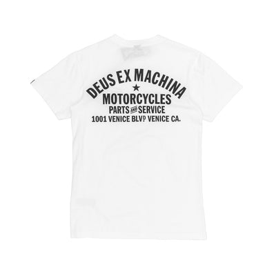 Deus Ex Machina Venice Address T-Shirt Back