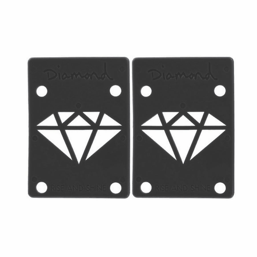 "Diamond 1/8"" Black Riser Pads - Pretend Supply Co"