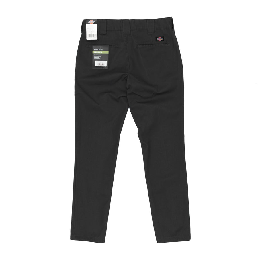 Dickies WE872 Slim Fit Trousers - Black Front