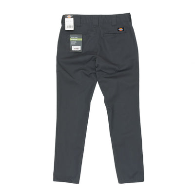 Dickies WE872 Slim Fit Trousers - Charcoal Back