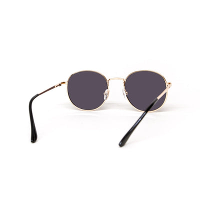 Glassy Sunhaters Ridley Sunglasses - Gold/Black - Pretend Supply Co