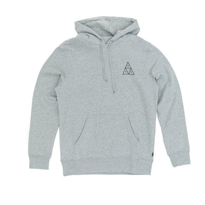 Huf Triple Triangle Pullover Hooded Sweatshirt - Grey Heather front