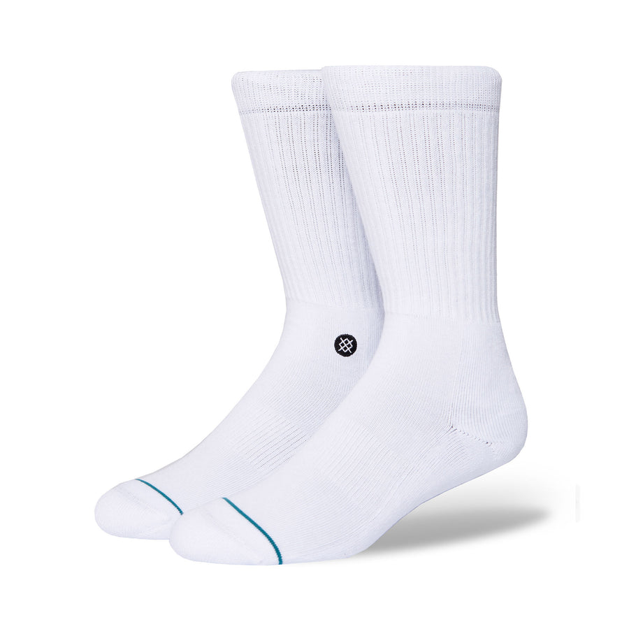 Stance Icon Socks - White/Black