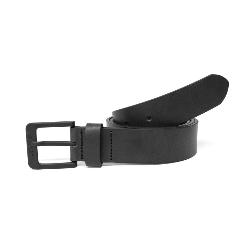 Levis Free Leather Belt - Gunmetal